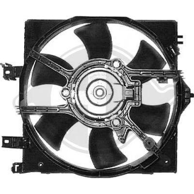 Ventilateur, refroidissement du moteur - Diederichs Germany - 8602203