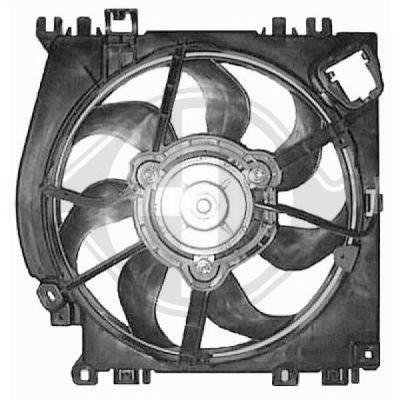 Ventilateur, refroidissement du moteur - HDK-Germany - 77HDK8602410