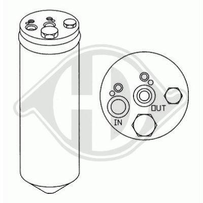 Filtre déshydratant, climatisation - HDK-Germany - 77HDK8605201