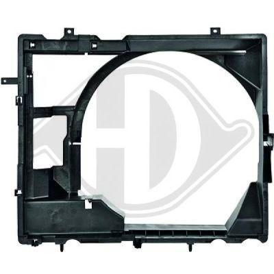 Support, ventilateur de radiateur - Diederichs Germany - 8608307
