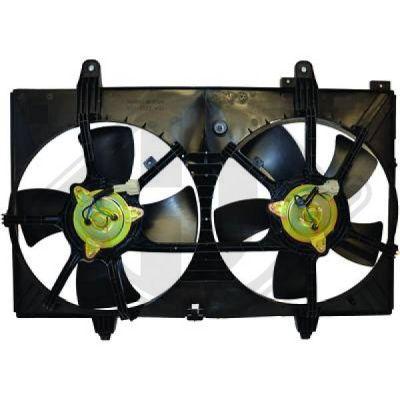 Ventilateur, refroidissement du moteur - Diederichs Germany - 8608706