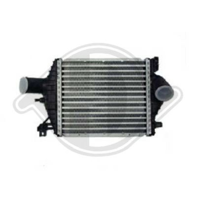 Intercooler, échangeur - Diederichs Germany - 8621114