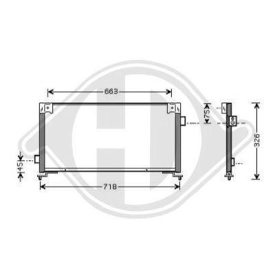 Condenseur, climatisation - Diederichs Germany - 8622101