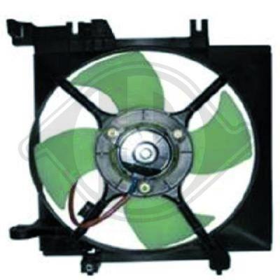 Ventilateur, refroidissement du moteur - Diederichs Germany - 8622301