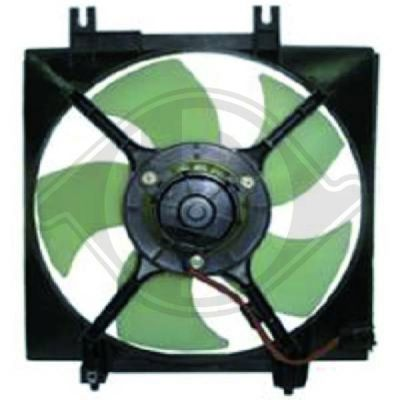 Ventilateur, condenseur de climatisation - HDK-Germany - 77HDK8622302