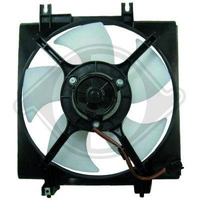 Ventilateur, refroidissement du moteur - Diederichs Germany - 8623511