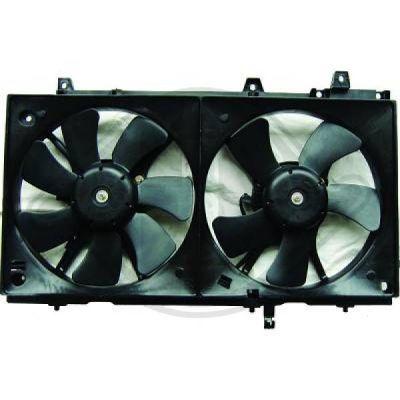 Ventilateur, refroidissement du moteur - Diederichs Germany - 8624015