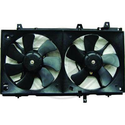 Ventilateur, refroidissement du moteur - Diederichs Germany - 8624016