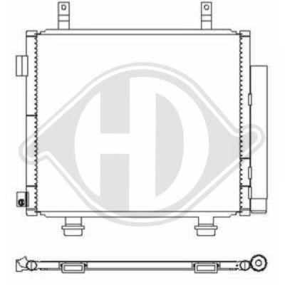 Condenseur, climatisation - HDK-Germany - 77HDK8640500