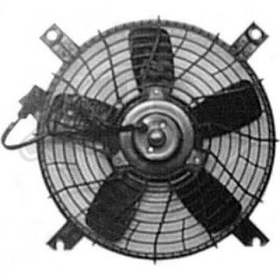 Ventilateur, condenseur de climatisation - Diederichs Germany - 8643010