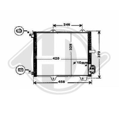Condenseur, climatisation - Diederichs Germany - 8643500