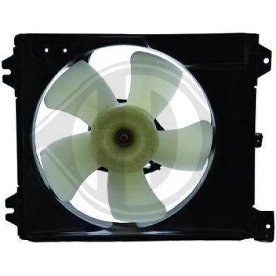 Ventilateur, refroidissement du moteur - Diederichs Germany - 8644591