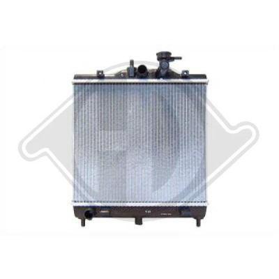 Radiateur, refroidissement du moteur - HDK-Germany - 77HDK8650505