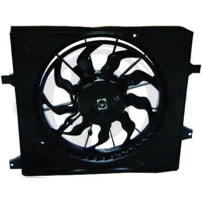Ventilateur, refroidissement du moteur - Diederichs Germany - 8652607