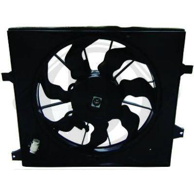 Ventilateur, refroidissement du moteur - Diederichs Germany - 8652609