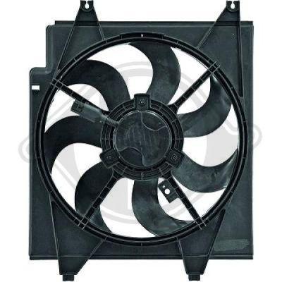 Ventilateur, refroidissement du moteur - Diederichs Germany - 8653603