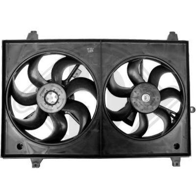 Radiateur, refroidissement du moteur - HDK-Germany - 77HDK8653604
