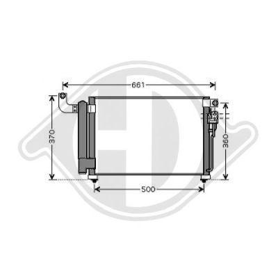 Condenseur, climatisation - HDK-Germany - 77HDK8654112