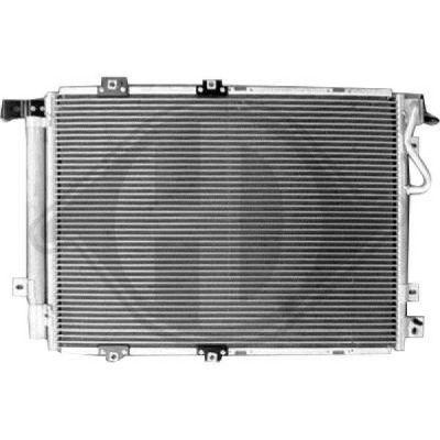 Condenseur, climatisation - Diederichs Germany - 8655206