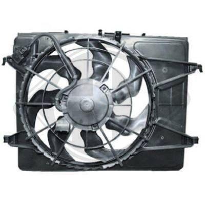 Ventilateur, refroidissement du moteur - Diederichs Germany - 8655306