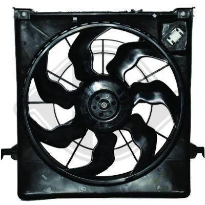 Ventilateur, refroidissement du moteur - Diederichs Germany - 8655307