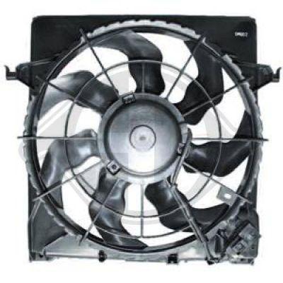 Ventilateur, refroidissement du moteur - HDK-Germany - 77HDK8655308
