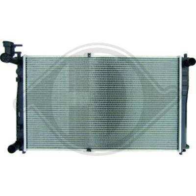 Radiateur, refroidissement du moteur - Diederichs Germany - 8658007