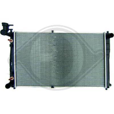 Radiateur, refroidissement du moteur - Diederichs Germany - 8658008