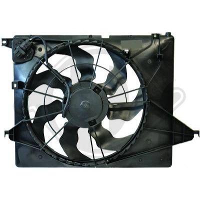 Ventilateur, refroidissement du moteur - HDK-Germany - 77HDK8658610