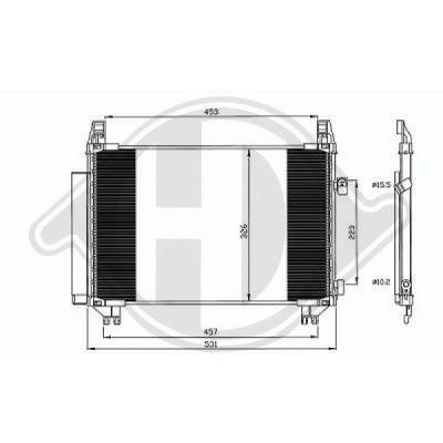 Condenseur, climatisation - HDK-Germany - 77HDK8660602