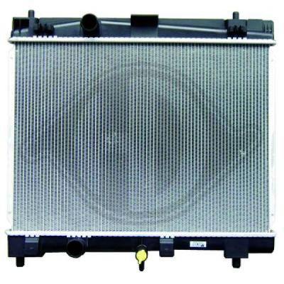 Radiateur, refroidissement du moteur - Diederichs Germany - 8660605