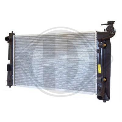 Radiateur, refroidissement du moteur - HDK-Germany - 77HDK8661803