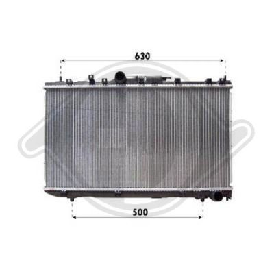 Radiateur, refroidissement du moteur - HDK-Germany - 77HDK8662306