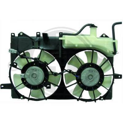 Ventilateur, refroidissement du moteur - HDK-Germany - 77HDK8663508