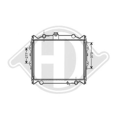 Radiateur, refroidissement du moteur - Diederichs Germany - 8667285