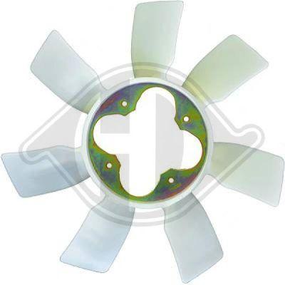 Roue du souffleur, refroidissement  du moteur - Diederichs Germany - 8668403
