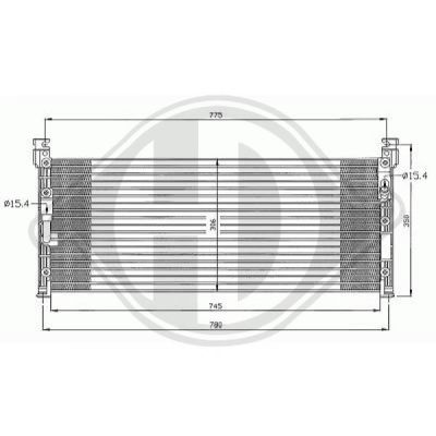 Condenseur, climatisation - HDK-Germany - 77HDK8668500