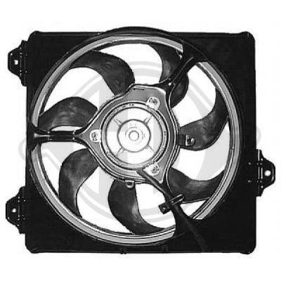 Ventilateur, refroidissement du moteur - Diederichs Germany - 8668612