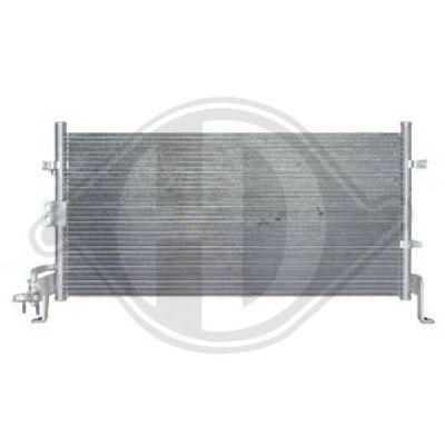 Condenseur, climatisation - Diederichs Germany - 8682100