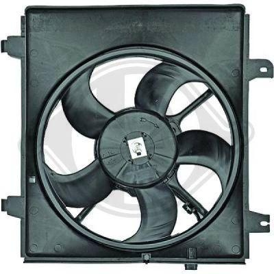 Ventilateur, refroidissement du moteur - Diederichs Germany - 8682592