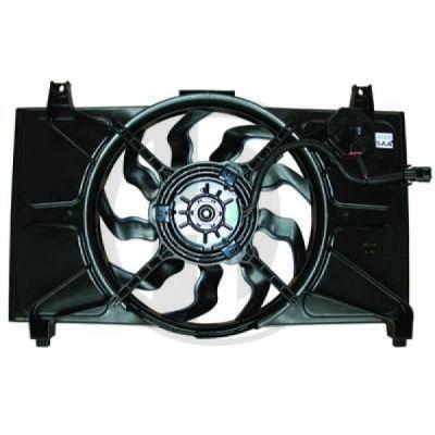 Ventilateur, condenseur de climatisation - Diederichs Germany - 8683303