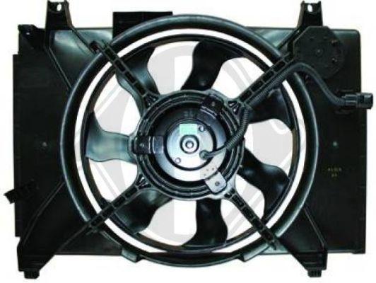 Ventilateur, refroidissement du moteur - Diederichs Germany - 8683304