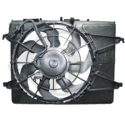 Ventilateur, refroidissement du moteur - HDK-Germany - 77HDK8683501
