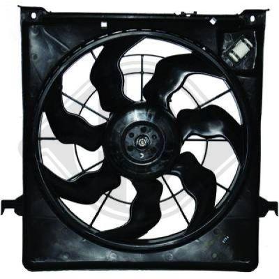 Ventilateur, refroidissement du moteur - HDK-Germany - 77HDK8683502