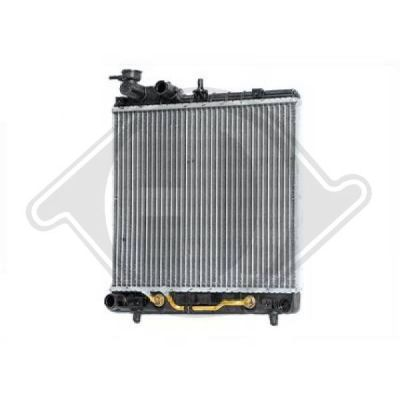 Radiateur, refroidissement du moteur - Diederichs Germany - 8685006
