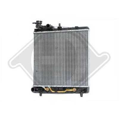 Radiateur, refroidissement du moteur - HDK-Germany - 77HDK8685006
