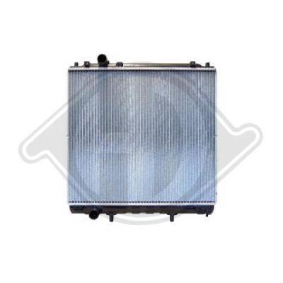 Radiateur, refroidissement du moteur - Diederichs Germany - 8688085