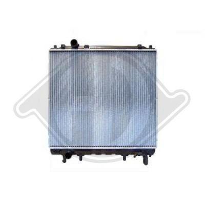 Radiateur, refroidissement du moteur - HDK-Germany - 77HDK8688086