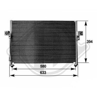 Condenseur, climatisation - HDK-Germany - 77HDK8688200