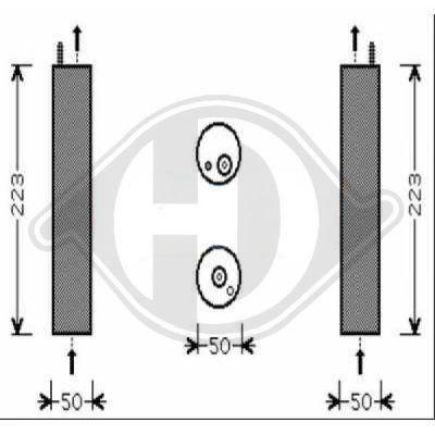 filtre d shydratant climatisation hdk germany 77hdk8691201 amapiece. Black Bedroom Furniture Sets. Home Design Ideas
